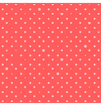 Orange Pink Red Star Polka Dots Background vector image