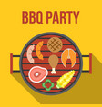 barbecue party vector image