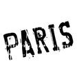 Paris stamp rubber grunge vector image
