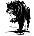 Big Bad Wolf vector image vector image
