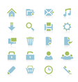 Web icons 6 vector image vector image
