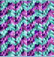 glitch pattern vector image
