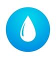 abstract water drop vector image vector image