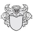 aristocratic emblem No17 vector image