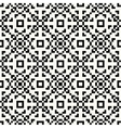 Hipster pixel seamless vector image