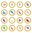 wing icon circle vector image