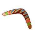 A boomerang vector image