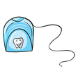 A tissue holder vector image