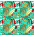 Summer seamless sea patterns vector image