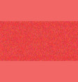 bright knitted texture on red background vector image