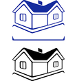 House sign vector image