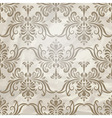 vintage wallpaper pattern on crumpled paper vector image