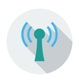 Wireless single flat icon vector image