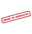Made In Hamburg Rubber Stamp vector image