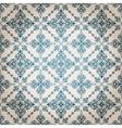 seamless vintage floral pattern vector image vector image
