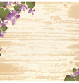 natural wooden background vector image