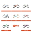 Bikes of the World vector image