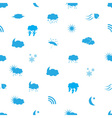 weather icons pattern eps10 vector image
