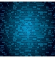 Blue security background with HEX-code vector image