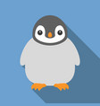 penguin icon vector image