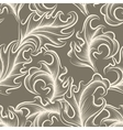 Victorian leaves Seamless pattern vector image