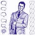boss vector image
