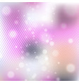 shining with particles on blurred background vector image