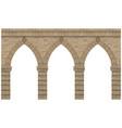 vintage arcade brick vector image