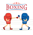 Boxing Gloves Character vector image