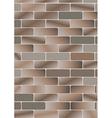 brick v vector image