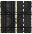 Road Skid Marks Background vector image