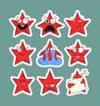 emoji stars icons emoji stickers vector image