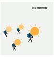 Idea competition idea concept vector image