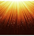 Star light sparkles background vector image