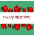 Stock card template for children s birthday vector image