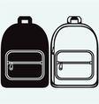 School bag vector image vector image