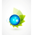nature sphere design vector image vector image