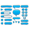 Set of user interface elements vector image