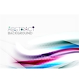Smooth lines abstract background vector image vector image