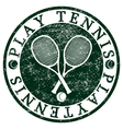 Play Tennis vector image