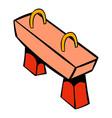 pommel horse icon icon cartoon vector image