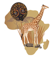 Africa Wildlife Culture vector image vector image