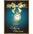 vector Christmas card vector image