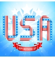 USA Independence Day Background vector image vector image