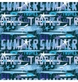 Summer seamless sea patterns vector image vector image