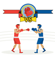 Boxing Athlete Fighting vector image