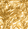 gold foil texture vector image vector image