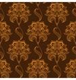 Oriental stylized paisley flourish seamless vector image