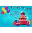 Birthday Party Invitation vector image