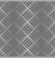 metal non slip background seamless pattern vector image